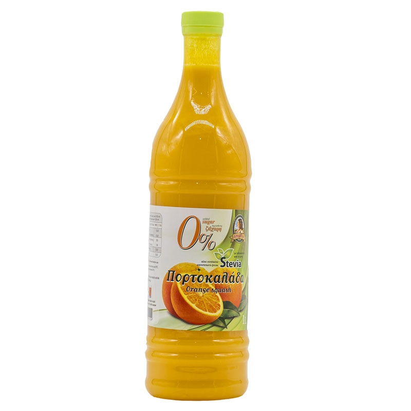 Orange Cordial with Stevia (1L)